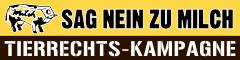 Kampagne Sag Nein zu Milch