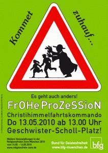 Frohe Prozession - Christihimmelfahrtskommando