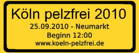 Köln pelzfrei 2010